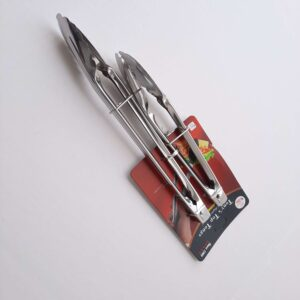 Stainless Steel Kitchen Tongs Set of 2