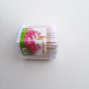 Comfort Cotton Ear Buds Heart 300 PCS – White.