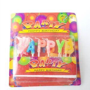 Kids Happy Birthday Alphabet Candles