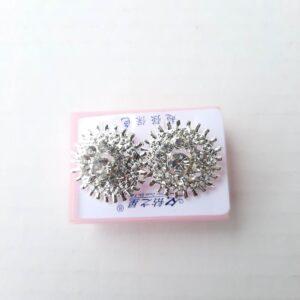 Silver Earring Tops