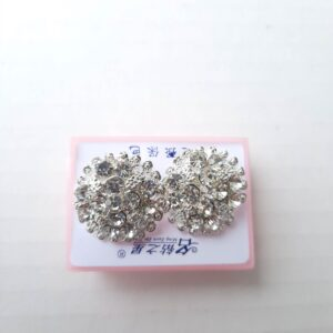 Silver Women's Earring Tops