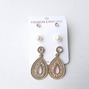 Three Pieces Earrings Set 1