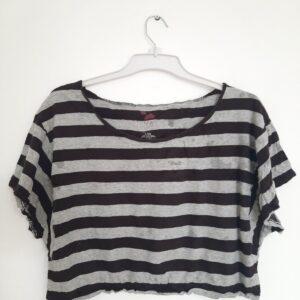 Striped Lady's Crop Top (Medium)