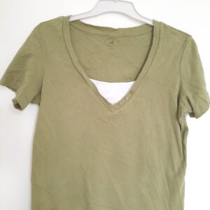 Great White & Green Lady's T-shirt