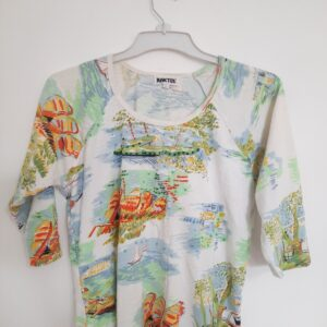 Modern Design Lady's T-shirt (Large)
