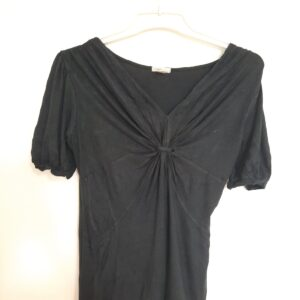 Black T-shirt with Designed Front (Small)