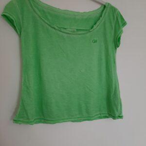 Green Stylish Lady's T-shirt (Medium)