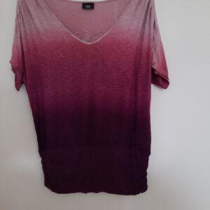 Purple Gradient Lady's T-shirt (Medium)