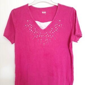 Fancy Girl's Pink T-shirt (Medium)