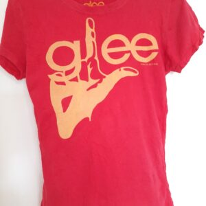 Red T-shirt with Designed Front (Large)