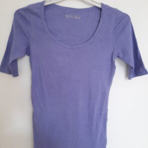 Plain Purple Lady's T-shirt (Small)