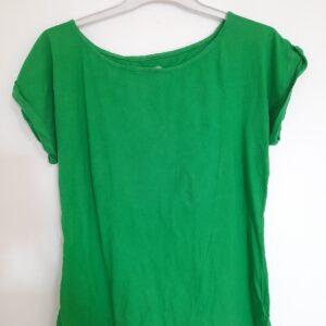Green Short Sleeve Women's T-shirt (Extra Large)