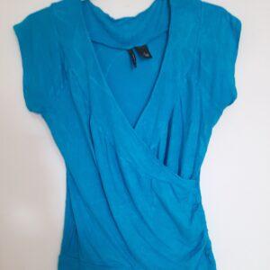Unique Designed Blue T-shirt (Large)