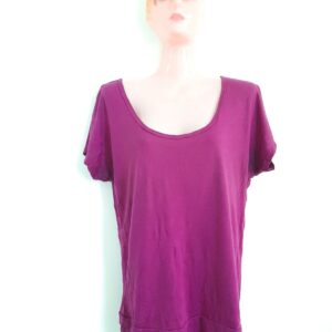 Bright Purple Long Women's T-shirt (Medium)