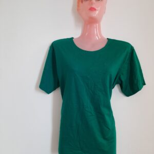 Attractive Green Girl's T-shirt (Extra Large)