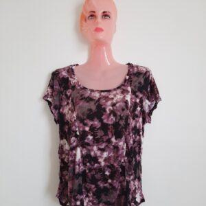 Stylish Colorful Design Lady's T-shirt (Large)