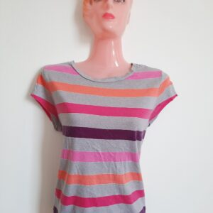 Beautiful Colored Stripes Women's T-shirt (Small)