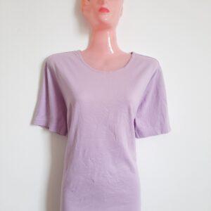Smart Plain Purple Lady's T-shirt (Extra Large)