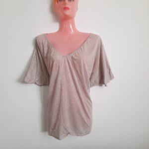 Wide Butterfly Shaped Women's T-shirt (Large)