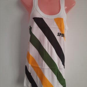 Men's Stylish Colored Stripes Vest