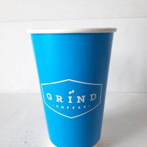 16 oz Stylish Disposable Blue Cups