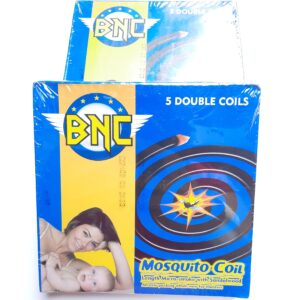 BNC Mosquito Repellent Coils Pack (5 Double Coils)