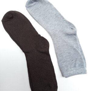 2 Pairs of Plain Colored Long Socks