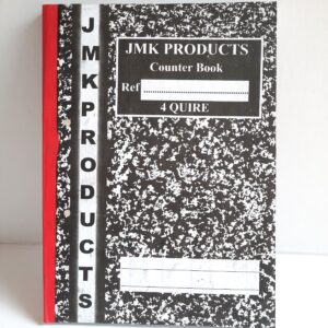 JMK Counter Book(4 Quires)